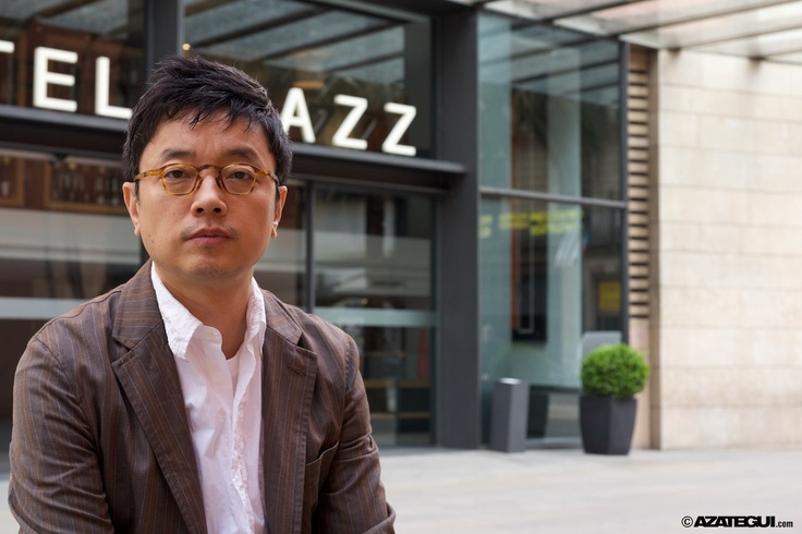 Je-yong Lee during his stay in Barcelona at Hotel Jazz due to the Barcelona Asian Film Festival 2010 - BAFF.