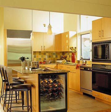 17 Best Images About Kitchen Island Remodel Wine Fridge Install On Pinterest Beverages End Of
