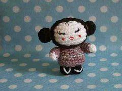 Free Amigurumi Kokeshi Doll Patterns : Amigurumi free pattern kaguya hime kokeshi doll by the sun and