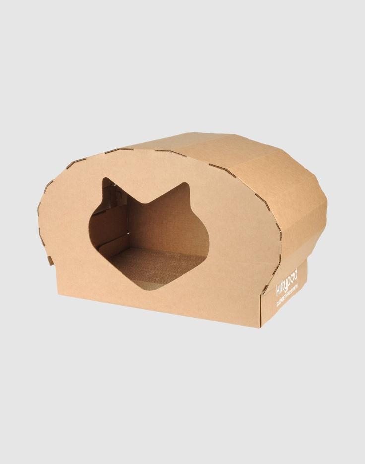 KITTYPOD cardboard cat house $52