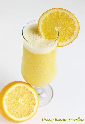 Orange Banana Smoothie | Healthy Smoothie Recipes Recipe on Yummly. @yummly #recipe