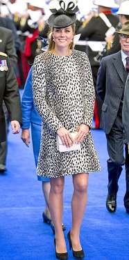 In her last month of pregnancy, Kate didn't slack off in the style department. Christening Princess ... - Tim Rooke/Rex USA