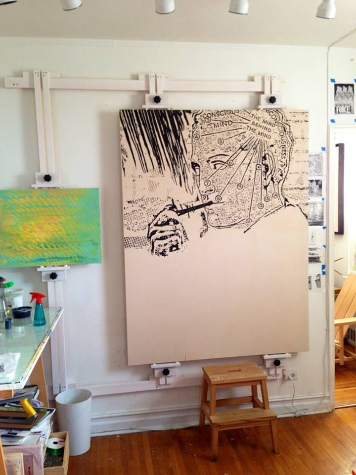 Wall Easel - Dan Bina