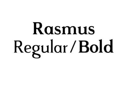 rasmus-typeface.com