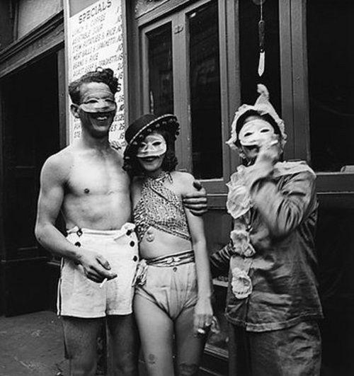 Masked merriment of Mardi Gras