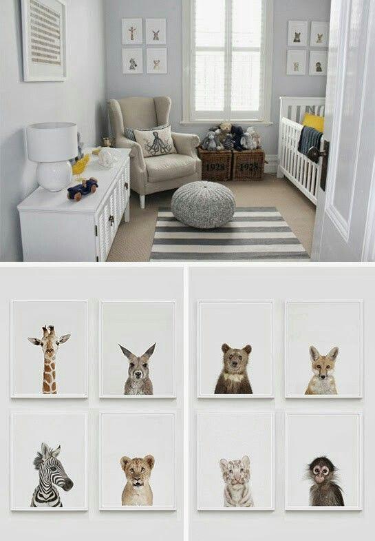 voorbeeld van stoel in babykamer