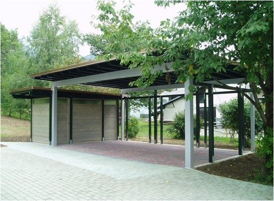 Small carports carport with small storage shed car for Carport with storage