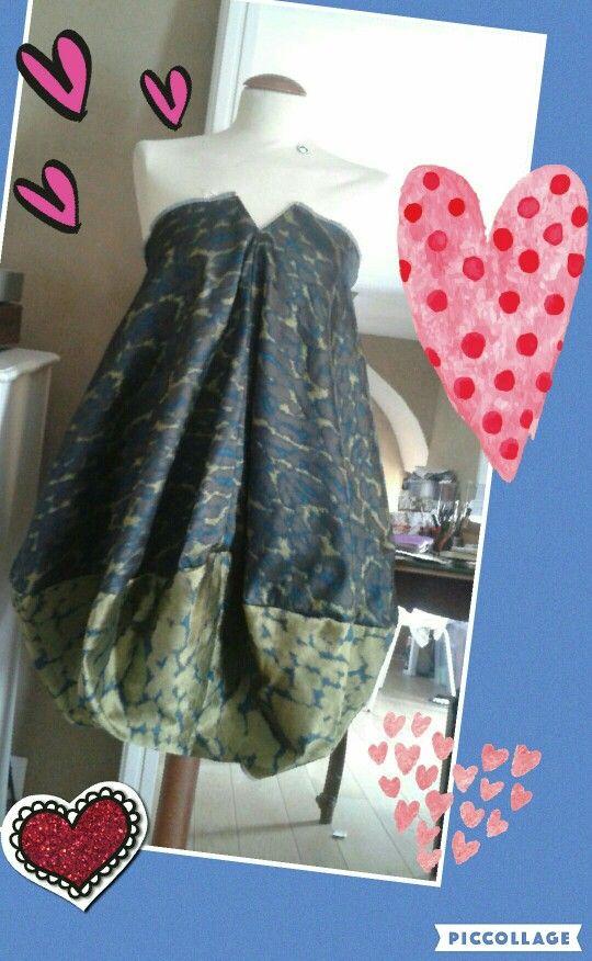 Il mio abito a palloncino!