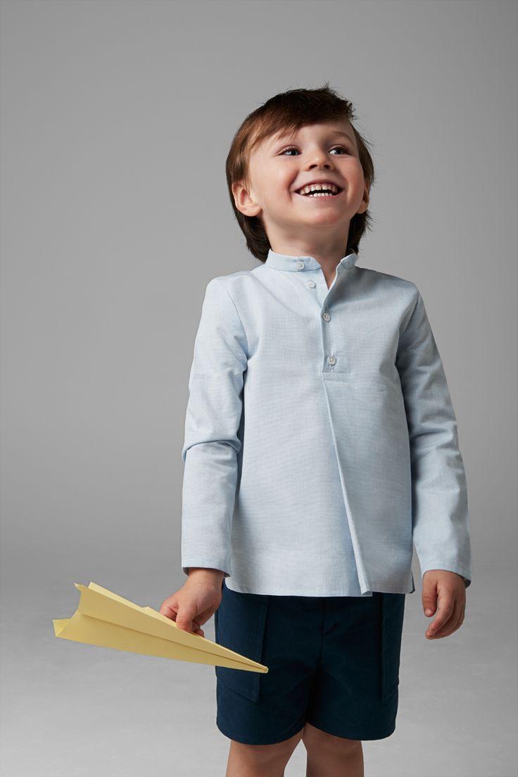 SS|17 Paper Plane Collection Minimal kids wear