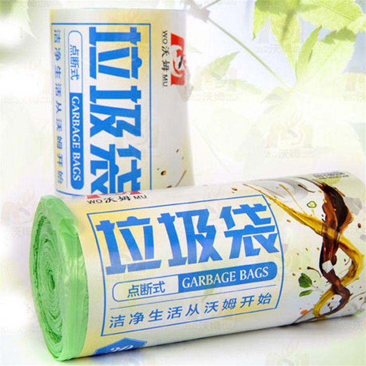 Экологически чистые! 3 rolls 30 шт./roll 45*52 см Зеленый Синие Мешки Для Мусора Мусор Мусорные Баки Кухни Office Для Дома Мусорная Корзина для мусора N1379