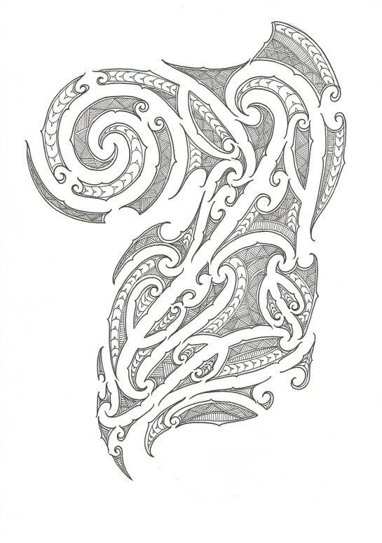 Ta Moko Designs | tagged maori ta moko maori ta concept chest half sleeve
