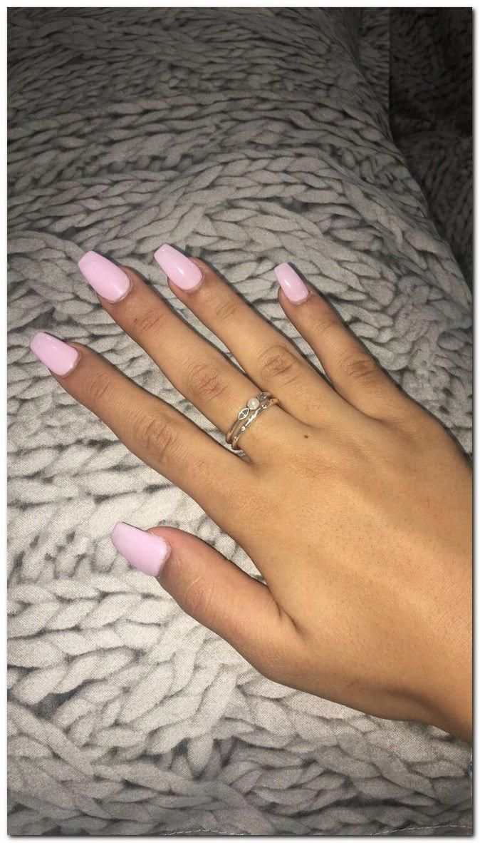 65 Stylish Acrylic Coffin Nail Designs And Colors For Spring Stylishacrylic Coffinnaildesigns A Lilac Nails Acrylic Nails Coffin Short Simple Acrylic Nails