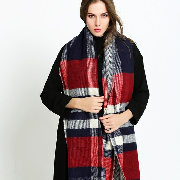 Warm Multicolored Scarf //Price: $34.20 & FREE Shipping //     #4UrbanStyle    Check it https://4urbanstyle.com/warm-multicolored-scarf/