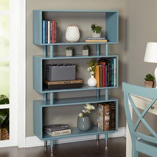 Simple Living Margo Mid Century Bookshelf   Overstock.com Shopping - The Best Deals on Media/Bookshelves