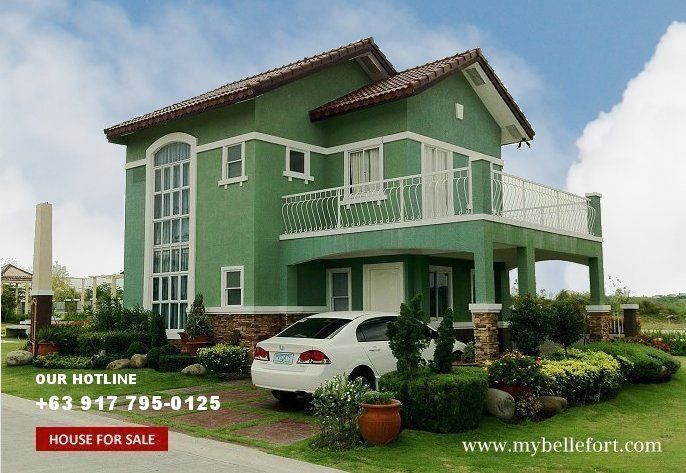 Green painted house google search exterior color for House color design exterior philippines