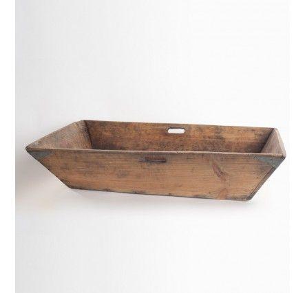 Caja antigua de vendimia