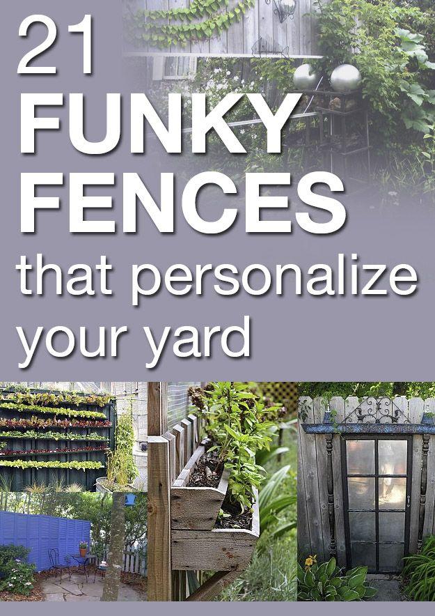 25 best Decorated fences images on Pinterest | Back garden ideas ...