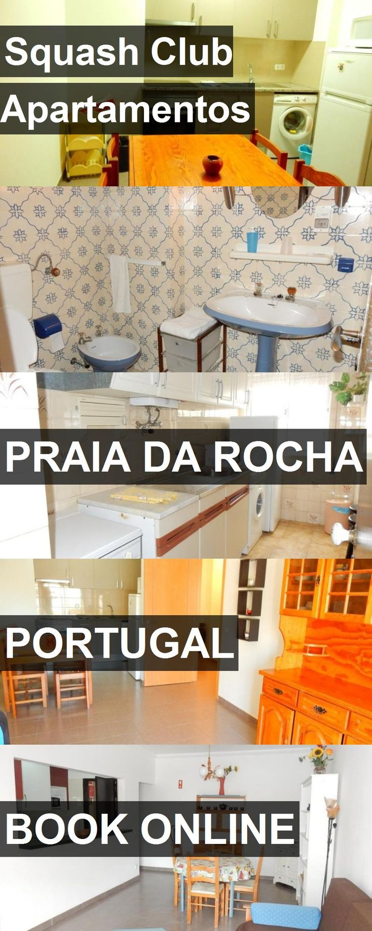 Hotel Squash Club Apartamentos in Praia da Rocha, Portugal. For more information, photos, reviews and best prices please follow the link. #Portugal #PraiadaRocha #SquashClubApartamentos #hotel #travel #vacation
