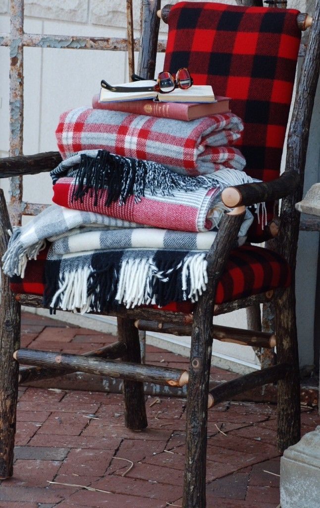 a good way to display your quilts in sight or throws
