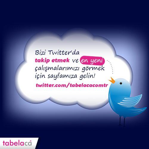 Yeni yılda aldığınız yeni kararlara işinizi de dahil ediyorsanız, Twitter sayfamızı takip ederek ilk adımı atabilirsiniz.  #Tabela #Reklam #Pano #Billboard #Yenilik #Twitter #Takip