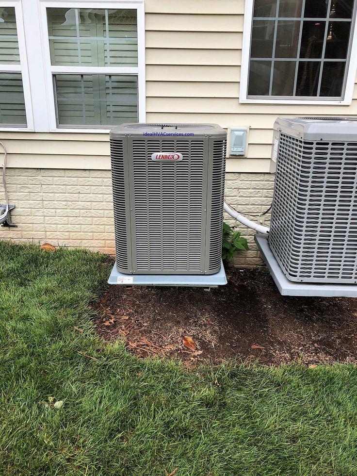 Heating and Air Conditioning Replacement Heat Pump System