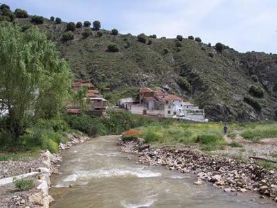 Ríos de la vertiente mediterránea. Río Huerva, afluente del Ebro por la derecha.