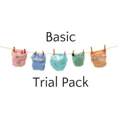 Basic - 3 Nappy Options