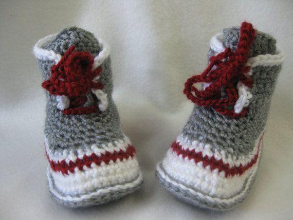 Patron Pantoufle style bottine bas de laine grandeur 8-9