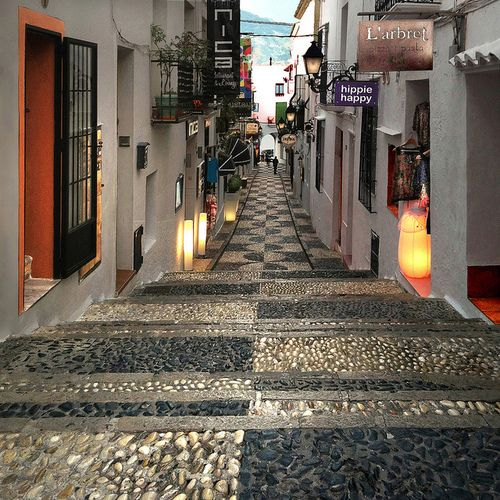 Streets of Altea, Alicante | Spain (by Majenea)