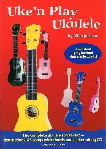 Elevenfy | uke n play ukulele omnibus edition BK - CD  -  JACKSON MIKE (MUSIC SALES)