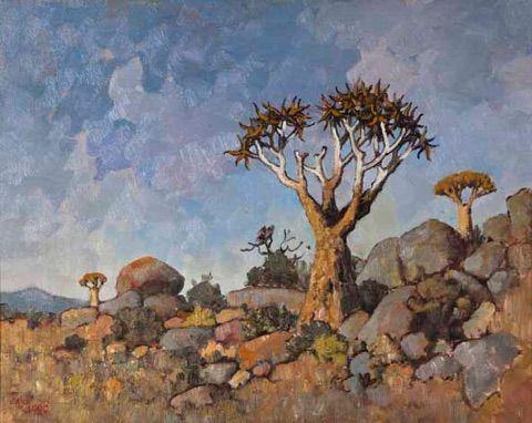 Kokerbome Voormiddag, Namakwaland