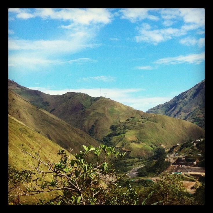 Road Bogotá - Villavicencio.