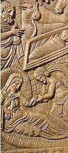cátedra del obispo maximiano - Detalle