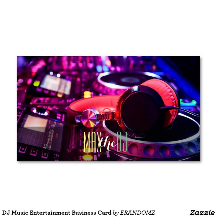 167 best DJ/Music Business Cards images on Pinterest   Visit cards ...