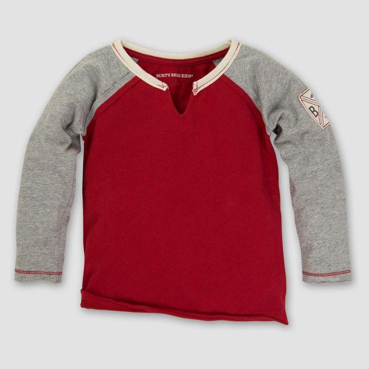T-Shirt Cranberry Heather 3T, Boy's, Gray Pink