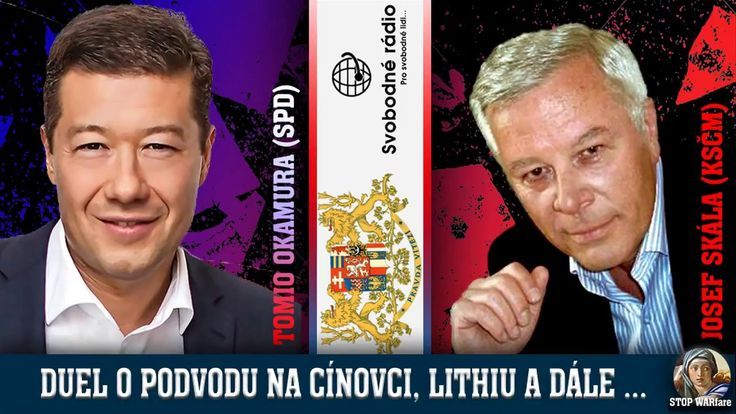 O kauze Cínovec, lithium aj. Duel Okamura (SPD) + Skála (KSČM) na Svobod...