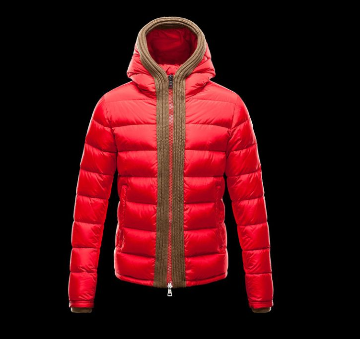 Moncler Uomini Giacca Canut Rosso €423.75