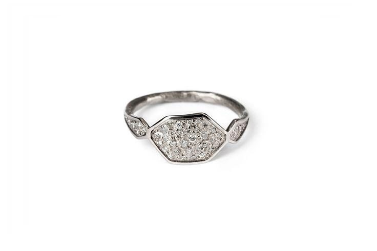 Courtesy of the Artist / Suzi Zutic http://courtesyoftheartist.com.au/products/signet-diamond-ring