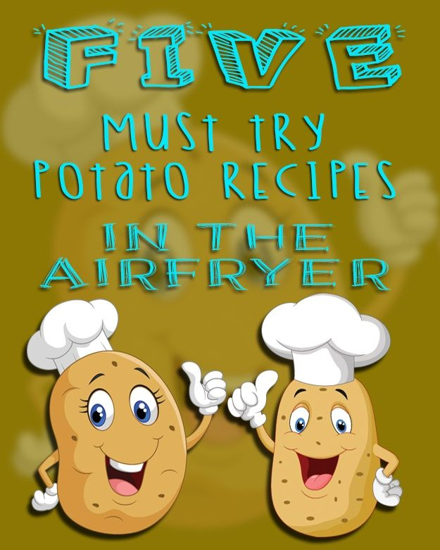 Airfryer Potato Recipes – 5 Must Try Potato Recipes In Your Airfryer via @recipethis