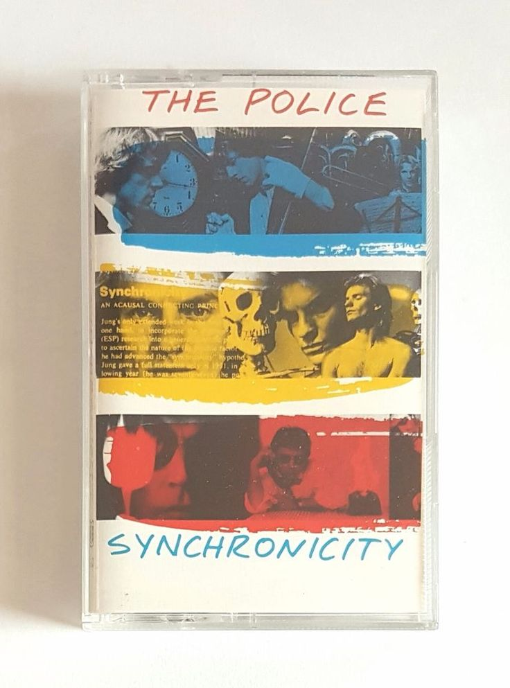 The Police Synchronicity Cassette Tape - Used - Columbia House Canada | eBay