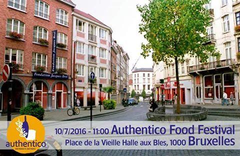 Authentico Food Festival en Belgique! les produits AOP-IGP Authentico voyage en Belgique, 10 Juillet 2016, qui sera tenue sur la place centrale de Bruxelles place de la Vieille Halle aux Blés, 1000 Bruxelles.