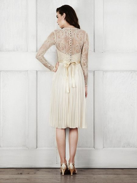 #CatherineDeane bridal Waterfall dress, now 50% off on catherinedeane.com