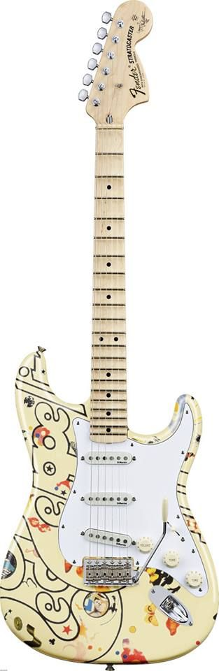led zeppelin III Fender Stratocaster                                                                                                                                                      More