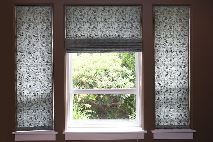 Valances For Windows Canada : Images about roman shade inspiration on pinterest