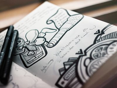 Doodles by Eugene Woronyuk (Kiev)