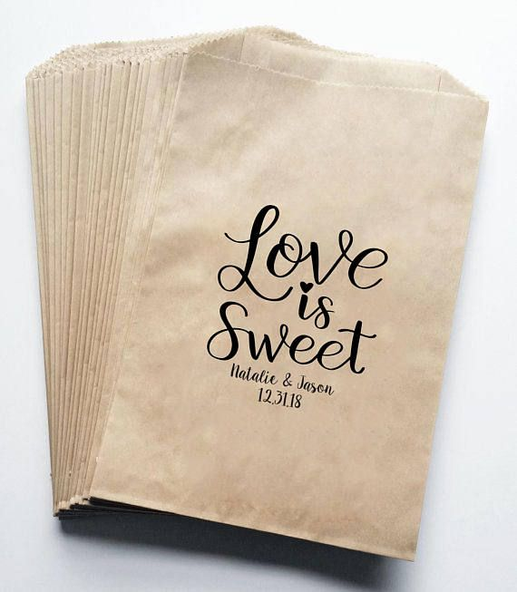 a0e0a89300183 Love is Sweet Stamp (Large Size), Wedding Favor Stamp, Candy Favor ...