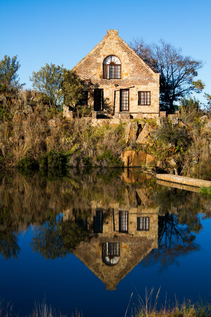 Richards pic - reflections, Dullstroom