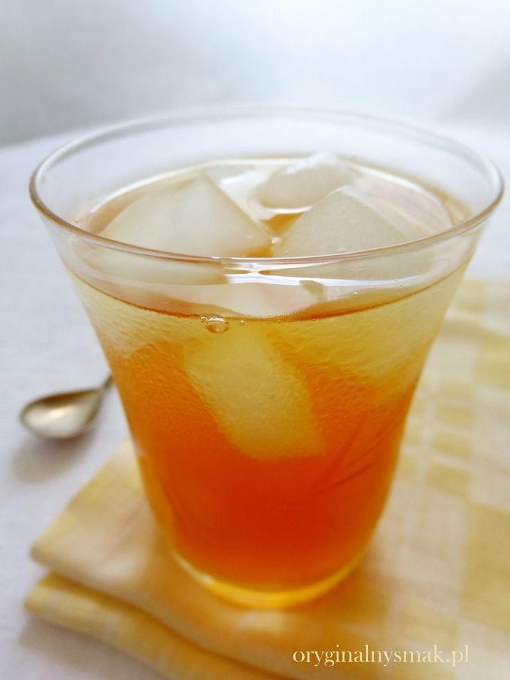 Mrożona herbata grejpfrutowa