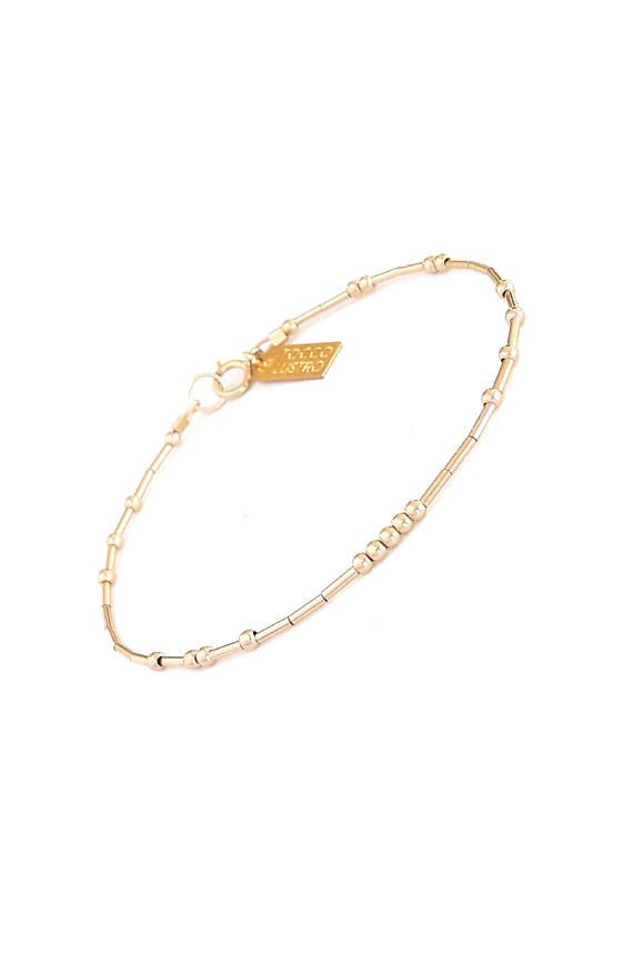 51880a4fd Simple Delicate Gold Bracelet, 14k Gold Filled / Dainty Chain, Custom Made  / Everyday