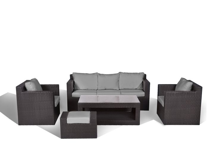 die besten 25 rattanm bel lounge ideen auf pinterest 3. Black Bedroom Furniture Sets. Home Design Ideas